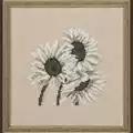 Permin Sunflower - Linen Cross Stitch Kit