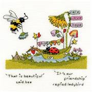 Cross stitch Bothy Threads Messages