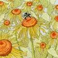 Bothy Threads Sunflower Garden Cross Stitch Kit