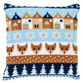 Vervaco Winter Motifs Fox Cushion Christmas Cross Stitch Kit