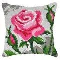 Orchidea Roses Latch Hook Cushion Latch Hook Cushion Kit