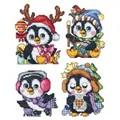 Orchidea Penguin Baby Ornaments Christmas Cross Stitch Kit