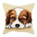 Orchidea Soulful Puppy Cushion Cross Stitch Kit