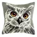 Orchidea White Owl Cushion Cross Stitch Kit