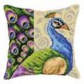 Orchidea Peacock Cushion Cross Stitch Kit