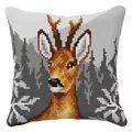 Orchidea Deer Cushion Cross Stitch Kit