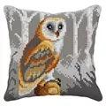 Orchidea Barn Owl Cushion Cross Stitch Kit