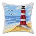 Orchidea Lighthouse Cushion Cross Stitch Kit