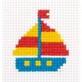 Klart Little Ship Cross Stitch Kit