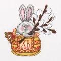 Klart Bunny with Willow Cross Stitch Kit