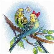 RIOLIS Love is in the Air Cross Stitch Kit