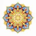 RIOLIS Energy Mandala Cross Stitch Kit