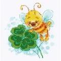 RIOLIS Lucky Clover Cross Stitch Kit