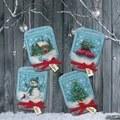 Dimensions Christmas Jar Ornaments Cross Stitch Kit