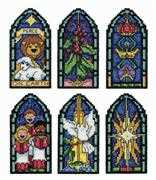 Design Works Crafts Peace on Earth Ornaments Christmas Cross Stitch Kit