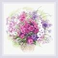 RIOLIS Watercolour Phlox Floral Craft Kit
