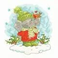 Bothy Threads Elly's Snow Day Christmas Cross Stitch Kit