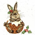 Bothy Threads Little Pudding Christmas Cross Stitch Kit