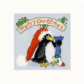 Bothy Threads PPP Please Santa Christmas Card Making Cross Stitch Kit