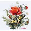 Merejka Summer Meadow Floral Cross Stitch Kit