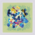 RIOLIS Bright Butterflies Cross Stitch Kit