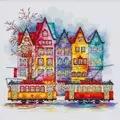 VDV Colours of the Old City Cross Stitch Kit