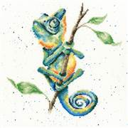 Bothy Threads One In A Chameleon Cross Stitch Kit