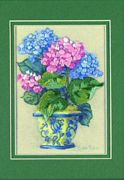 Dimensions Colourful Hydrangea Floral Embroidery Kit