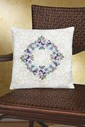 Janlynn Floral Fantasy Pillow Embroidery Kit