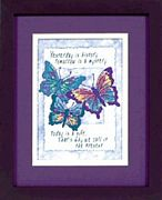 Dimensions Today is a Gift Cross Stitch Kit