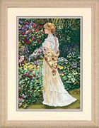 In Her Garden - Dimensions Cross Stitch Kit