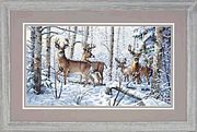 Dimensions Woodland Winter Christmas Cross Stitch Kit