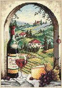 Dimensions Dreaming of Tuscany Cross Stitch Kit