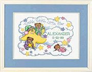 Twinkle Twinkle Birth Record - Dimensions Cross Stitch Kit