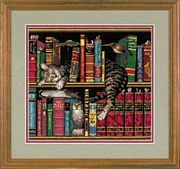 Dimensions Frederick the Literate Cross Stitch Kit
