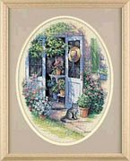 Dimensions Garden Door Cross Stitch Kit