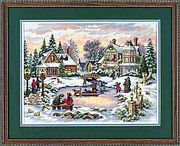 Dimensions A Treasured Time Christmas Cross Stitch Kit