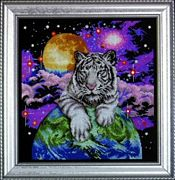 Tiger of the Heavens - Design Works Crafts Cross Stitch Kit