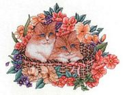Basket of Joy - Bobbie G Designs Cross Stitch Kit
