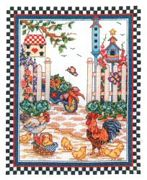 Country Garden - Bobbie G Designs Cross Stitch Kit