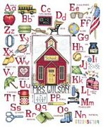 My Teacher - Bobbie G Designs Cross Stitch Kit