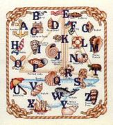 Nautical Sampler - Bobbie G Designs Cross Stitch Kit