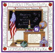 School Days - Bobbie G Designs Cross Stitch Kit