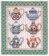 Tea Time - Bobbie G Designs Cross Stitch Kit