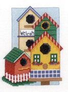 Welcome Birdhouse - Bobbie G Designs Cross Stitch Kit
