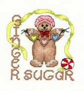 Ginger Sugar (glass bead included) - Chart