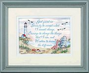 Dimensions Serenity Prayer Cross Stitch Kit