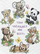 Dimensions Baby Animals Quilt Cross Stitch Kit