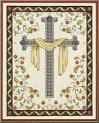 His Cross - Janlynn Cross Stitch Kit