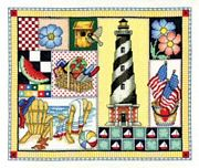 Summer Design - Bobbie G Designs Cross Stitch Kit
